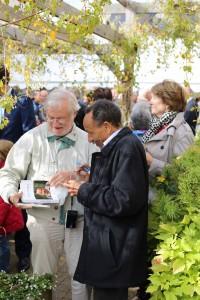 Pierre Rabhi à Angers Inauguration du CCAS