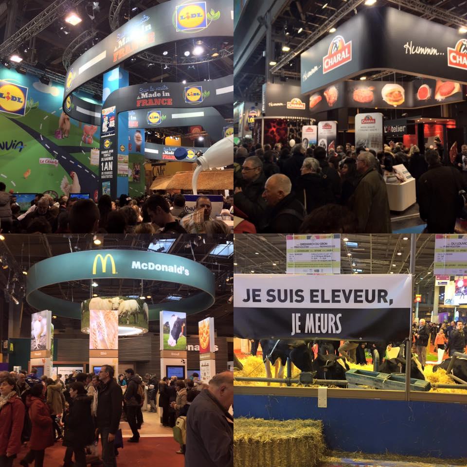 #SiA 2016 #Ferme de Sainte marthe Salon de l'Agriculture