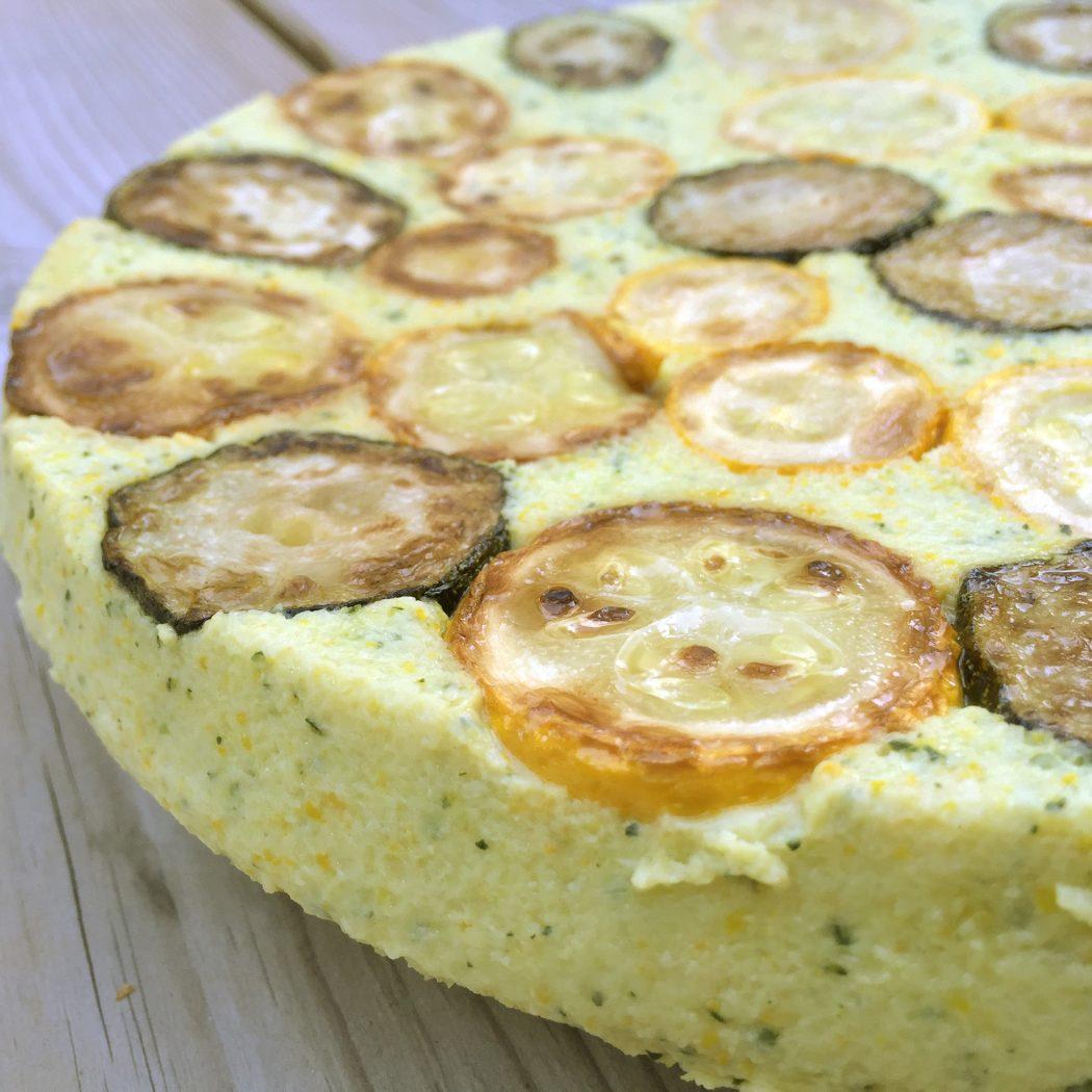La recette du gâteau de courgettes